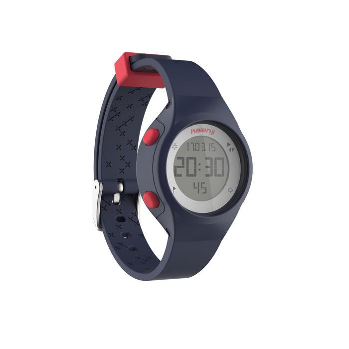 Montre chronomètre de course à pied femme W500 S NOIRE - 1275542