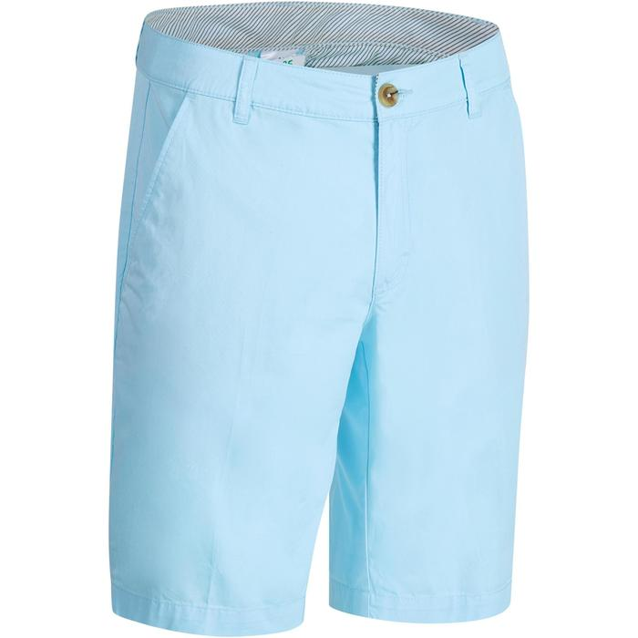 500 Men's Golf Temperate Weather Bermuda Shorts - Sky Blue
