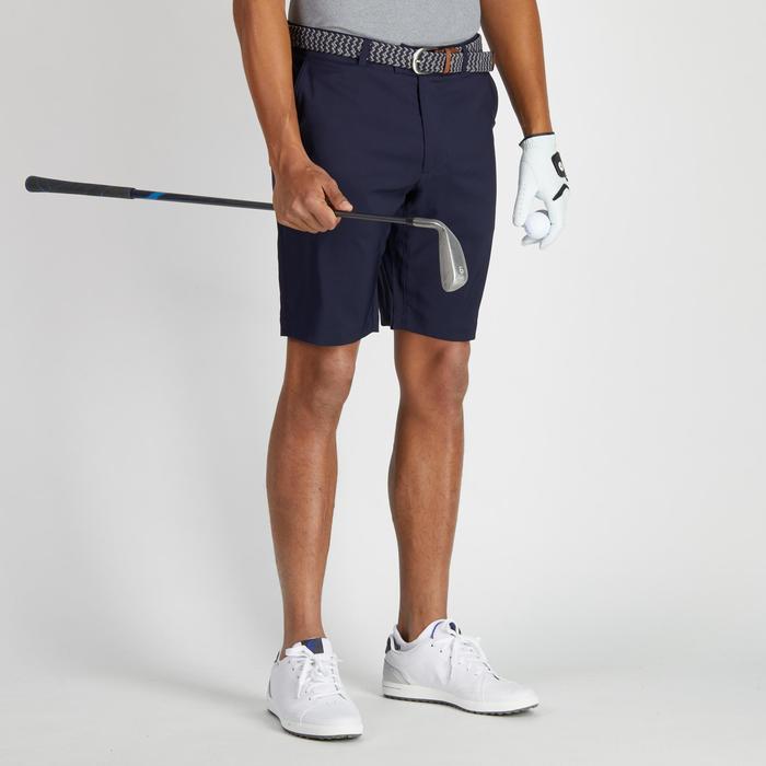 Bermudas de golf hombre 900 tiempo caluroso azul marino