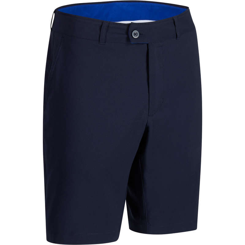 MENS WARM WEATHER GOLF CLOTHING Golf - NAVY BLUE M WW BERMUDA INESIS - Golf Clothing