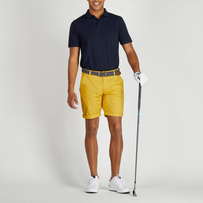 Golfbermuda 500 voor heren, zacht weer, geel