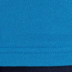 Golfpolo 500 met korte mouwen voor heren, zacht weer, blauw