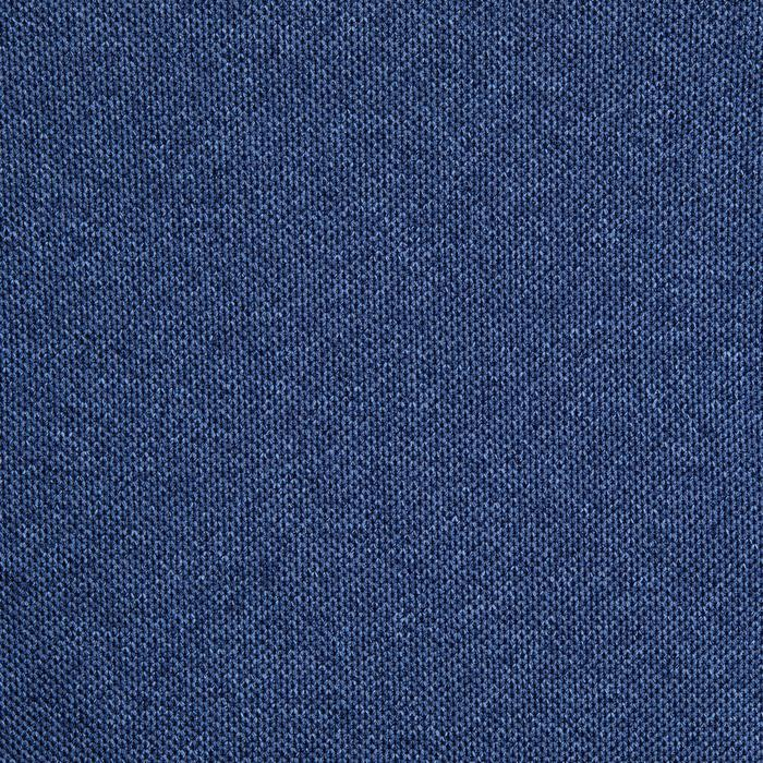 Polo de golf homme manches courtes 900 temps bleu chiné