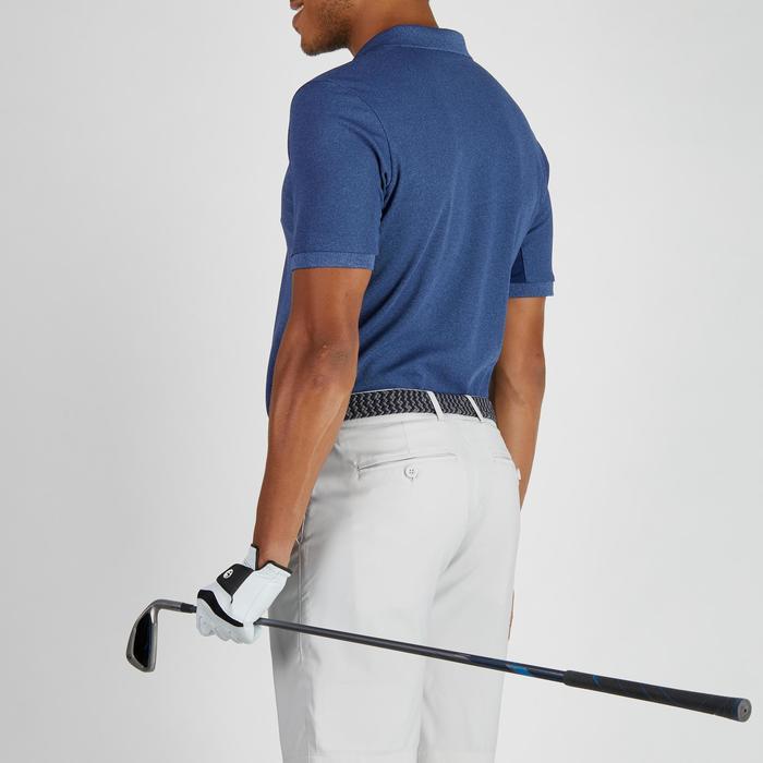 900 Men's Golf Short Sleeve Warm Weather Polo - Heather Blue