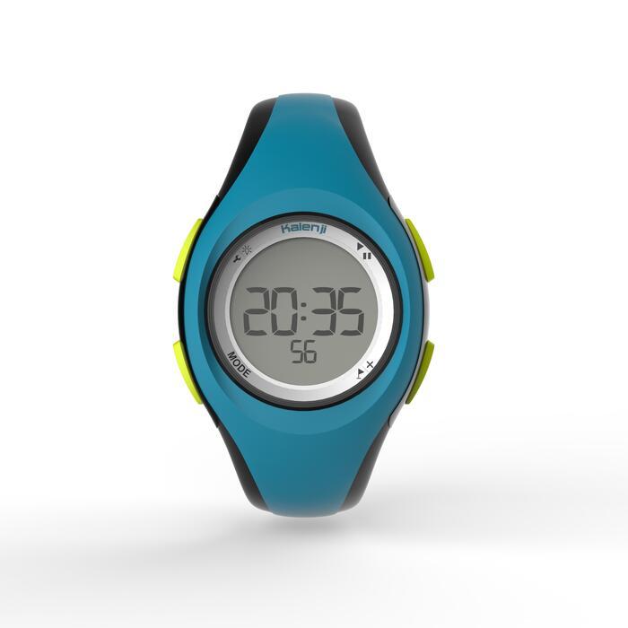 Montre digitale sport femme junior W200 S timer bleu & - 1275623