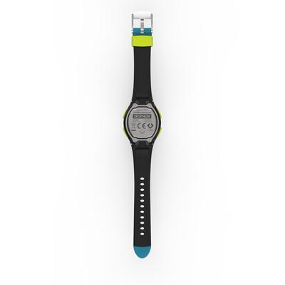 W200 S women's running stopwatch - Blue and Black