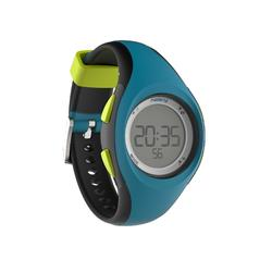 Montre digitale sport femme junior W200 S timer bleu &