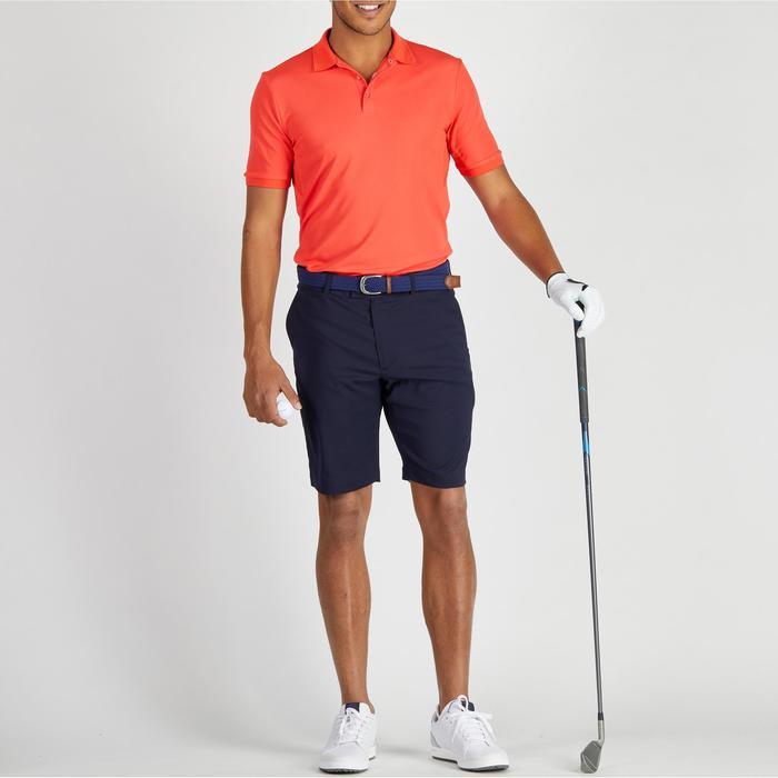 Polo de golf hombre manga corta 900 tiempo caluroso rojo