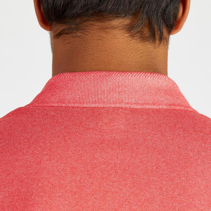 900 Men's Golf Short Sleeve Warm Weather Polo - Heather Red