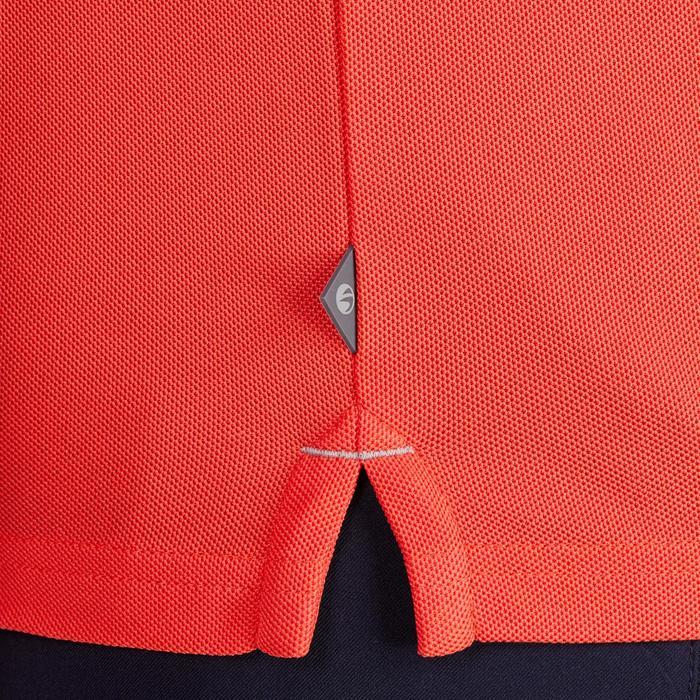 Polo de golf homme manches courtes 900 temps chaud rouge