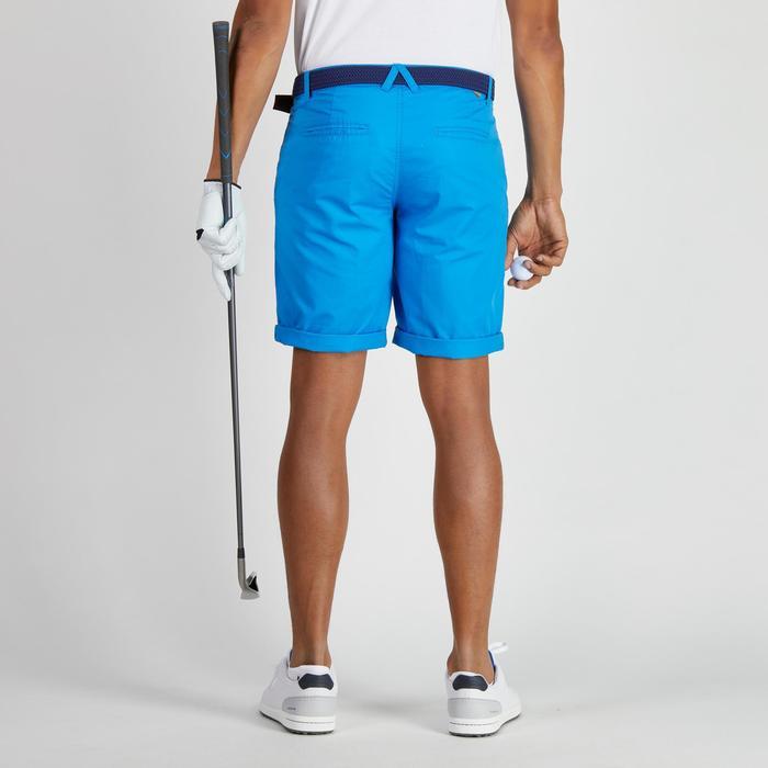 Bermuda de golf homme 500 temps tempéré marine - 1275695