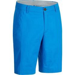 Golfbermuda 500 voor heren, warm weer, blauw