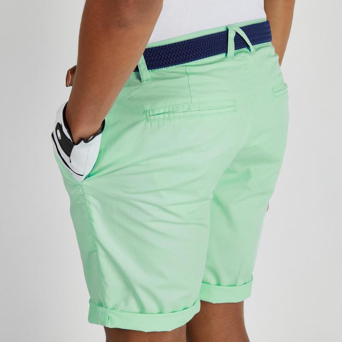 Bermuda de golf homme 500 temps tempéré marine - 1275719