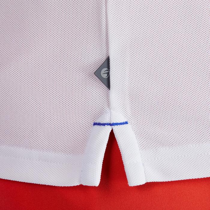 Golfpolo 900 met korte mouwen voor heren, warm weer, wit