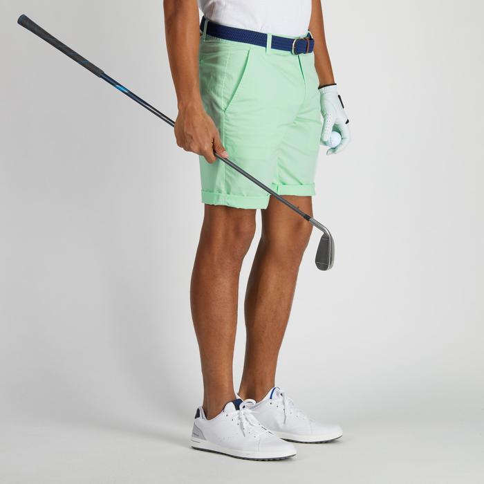 Bermuda de golf homme 500 temps tempéré marine - 1275755