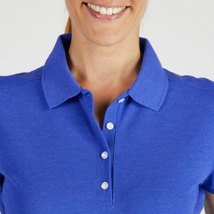 Polo de golf femme manches courtes 500 temps tempéré - 1275768