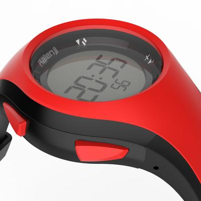 W200 M running stopwatch - Red and Black