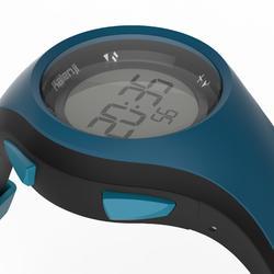 Hardloophorloge met stopwatch heren W200 M blauw zwart