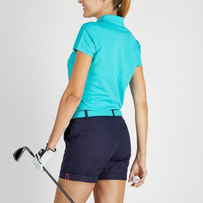 Polo de golf femme manches courtes 500 temps tempéré - 1275780