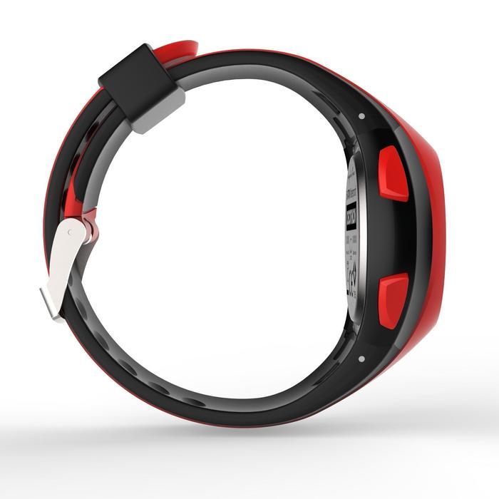 Hardloophorloge met stopwatch W200 M rood en zwart