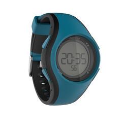 Loophorloge met stopwatch heren W200 M blauw/zwart