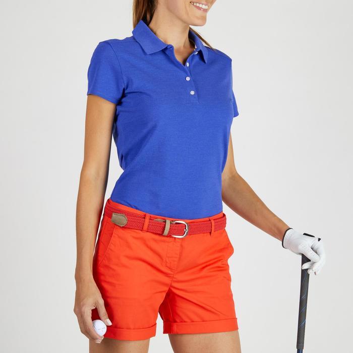 Polo de golf femme manches courtes 500 temps tempéré - 1275789