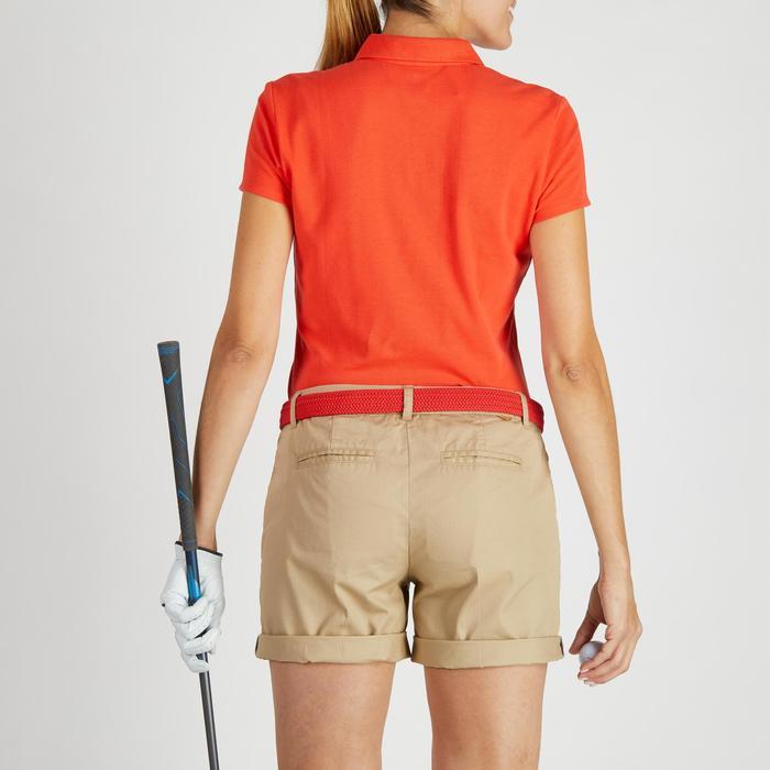 Polo de golf femme manches courtes 500 temps tempéré - 1275791