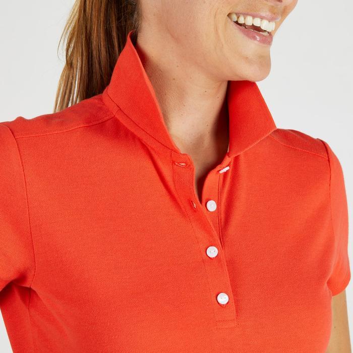 Polo de golf femme manches courtes 500 temps tempéré - 1275794