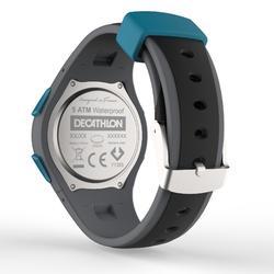 Montre chronomètre course à pied W200 M noir et bleu