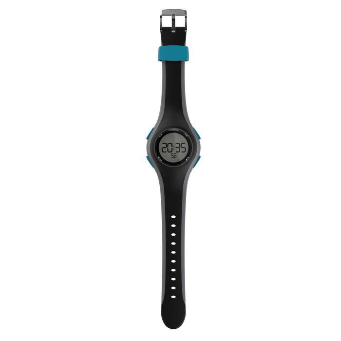 Loophorloge met stopwatch heren W200 M zwart/blauw