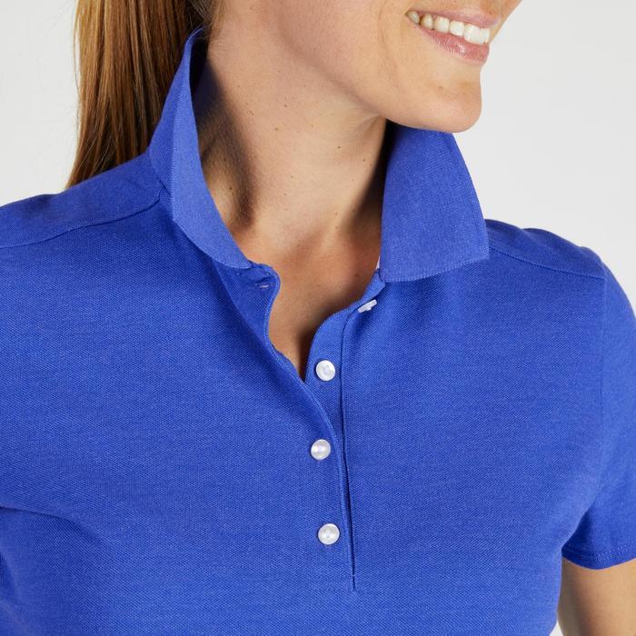 Polo de golf femme manches courtes 500 temps tempéré - 1275819