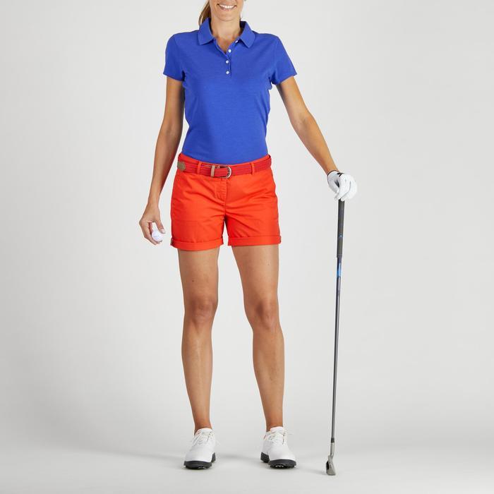 Polo de golf femme manches courtes 500 temps tempéré - 1275821