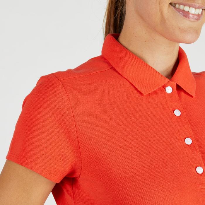 Polo de golf femme manches courtes 500 temps tempéré - 1275826