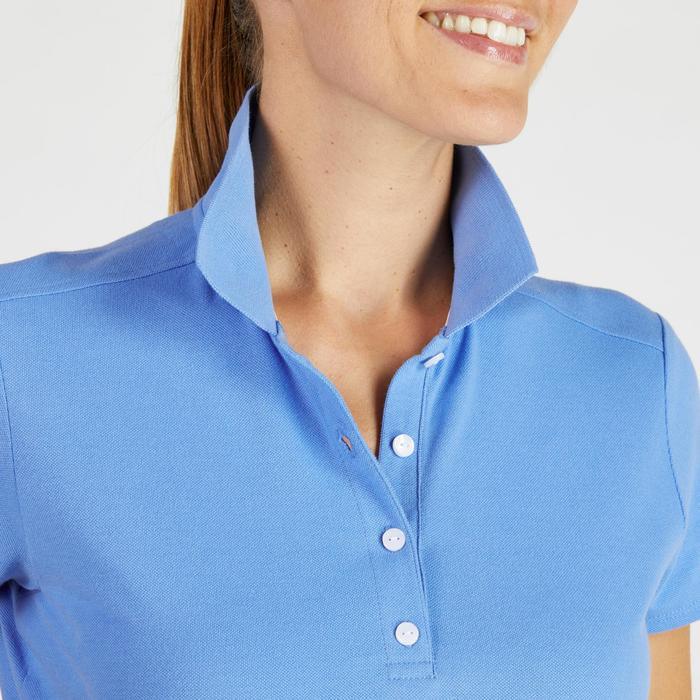 Polo de golf femme manches courtes 500 temps tempéré - 1275829
