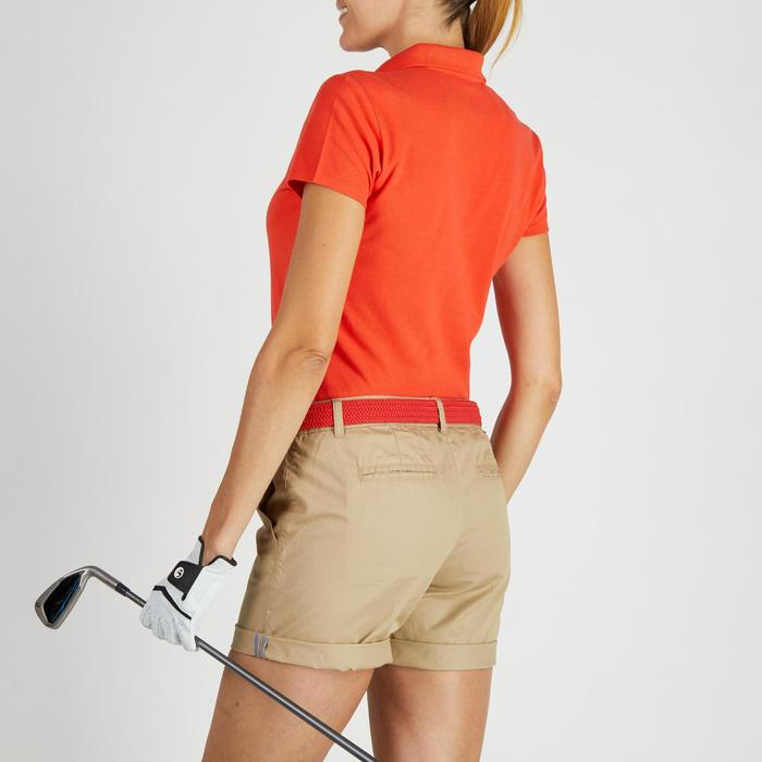 Polo de golf femme manches courtes 500 temps tempéré - 1275831
