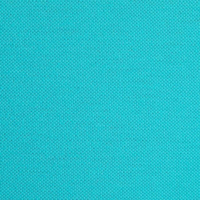 Golfpolo 500 met korte mouwen voor dames, zacht weer, turquoise