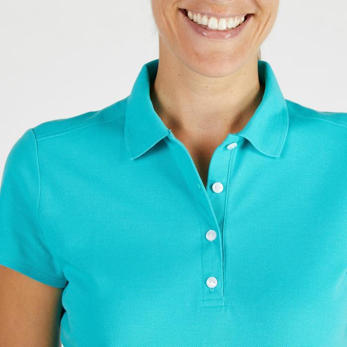 Polo de golf femme manches courtes 500 temps tempéré - 1275846