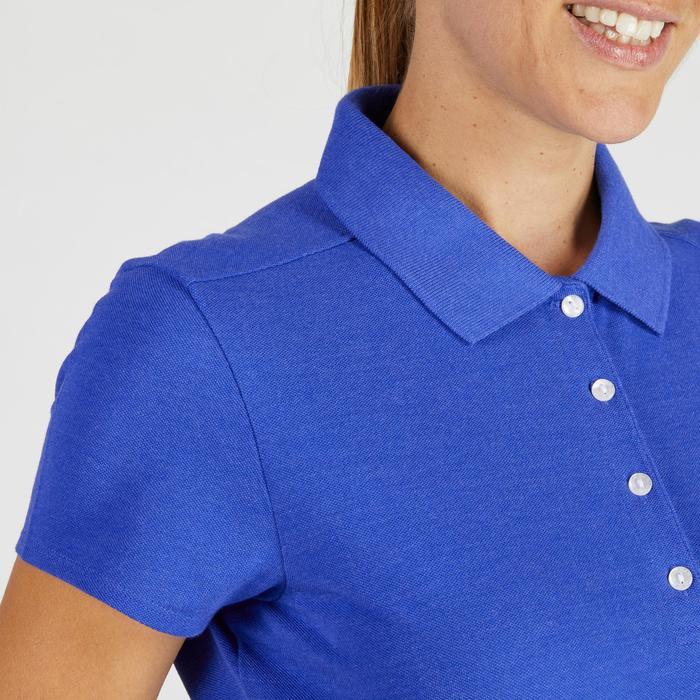 Polo de golf femme manches courtes 500 temps tempéré - 1275848