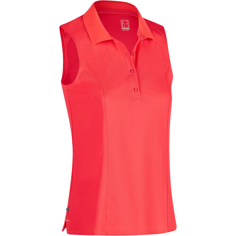 db9630aac4e0f8 900 Women s Golf Sleeveless Warm Weather Polo - Red