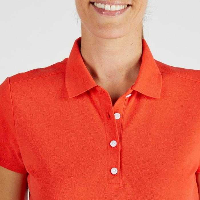 Polo de golf femme manches courtes 500 temps tempéré - 1275866
