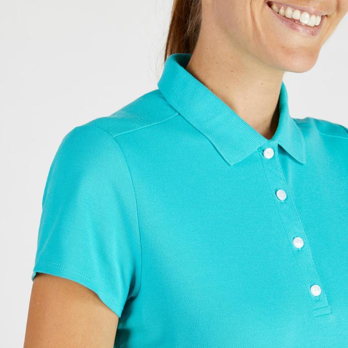 Polo de golf femme manches courtes 500 temps tempéré - 1275870