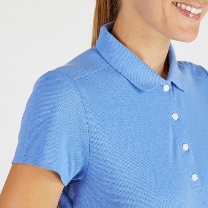 Polo de golf femme manches courtes 500 temps tempéré - 1275872