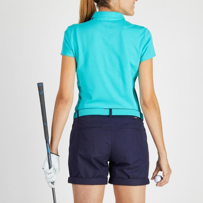 Polo de golf femme manches courtes 500 temps tempéré - 1275878