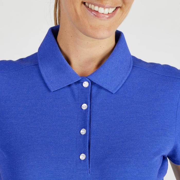 Polo de golf femme manches courtes 500 temps tempéré - 1275905