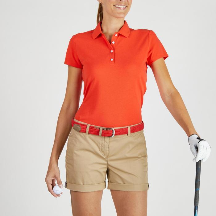 Polo de golf femme manches courtes 500 temps tempéré - 1275918