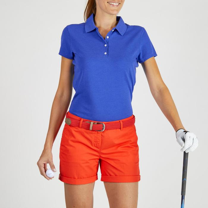 Polo de golf femme manches courtes 500 temps tempéré - 1275919