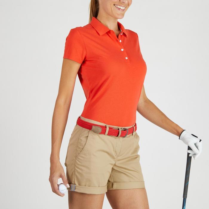 Polo de golf femme manches courtes 500 temps tempéré - 1275925