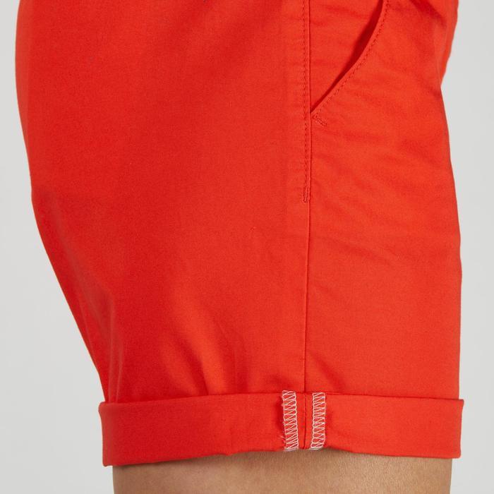 Golfshort 500 voor dames, zacht weer, rood