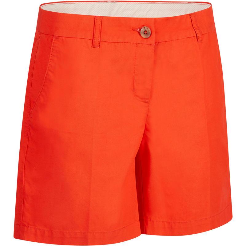 bastante agradable ad881 2a240 Pantalón corto de golf mujer 500 clima templado rojo