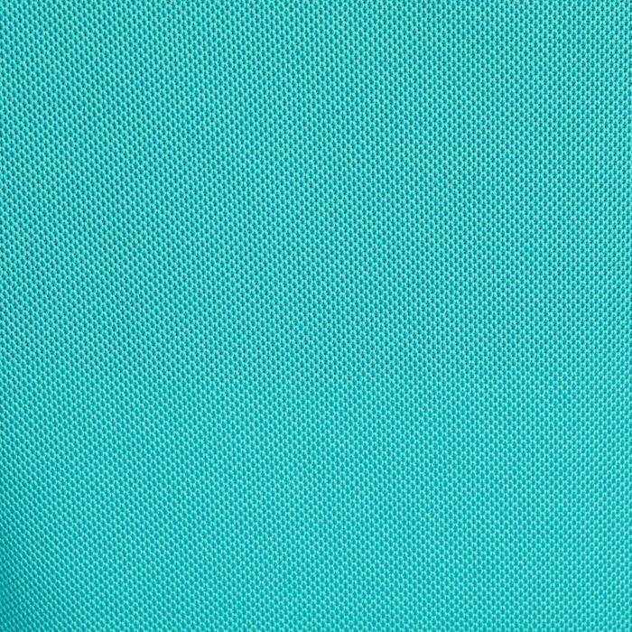 Mouwloze golfpolo 900 voor dames, warm weer, turquoise